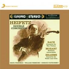 Jascha Heifetz Double Concertos K2HD CD