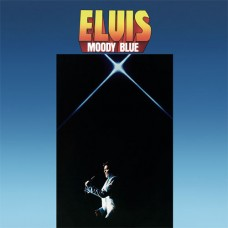 Elvis Presley Moody Blue LP Clear Blue Vinyl
