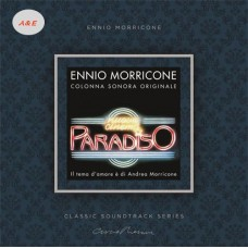 Ennio Morricone Nuovo Cinema Paradiso Soundtrack LP Transparent Vinyl