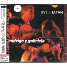 Rodrigo Y Gabriela Live in Japan CD Japan Edition