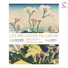André Navarra Annie d'Arco Japanese Melodies CD