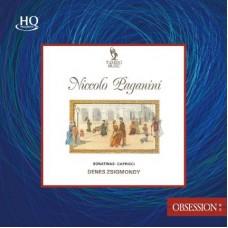 Paganini Sonatinas & Capricci HQCD