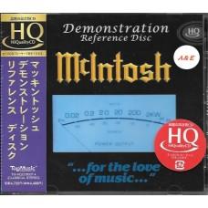 McIntosh Demonstration Reference Disc HQCD Japan