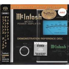 McIntosh MC501 Demonstration Reference Disc SACD