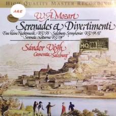 W.A. Mozart Serenades & Divertimenti LP Vinyl