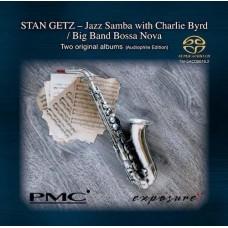 Stan Getz Jazz Samba with Charlie Byrd Big Band Bossa Nova PMC Exposure SACD