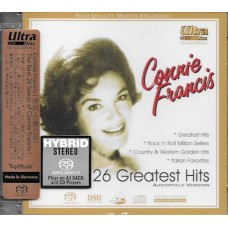 Connie Francis 26 Greatest Hits Audiophile Version SACD
