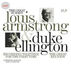 Louis Armstrong & Duke Ellington The Great Summit 2-LP