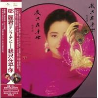 Teresa Teng 鄧麗君 我只在乎你 圖案膠 LP
