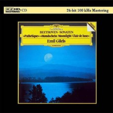 Emil Gilels Beethoven Piano Sonatas K2HD CD