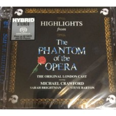 Highlights from The Phantom of the Opera SACD