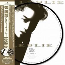 Leslie Cheung 張國榮 側面 圖案膠 Picture LP Vinyl
