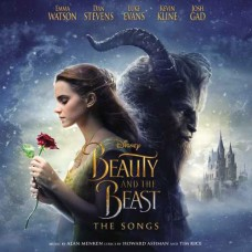 Beauty and The Beast The Songs Soundtrack LP Blue Vinyl