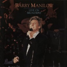 Barry Manilow Live on Broadway 2-LP Vinyl