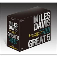 Esoteric Miles Davis Great 5 SACD Japan boxset